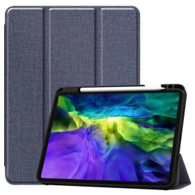 "Apple iPad Pro 11"" 2020 / 2021 tablet tok toll tartóval, kék - mob-tok-shop.hu"