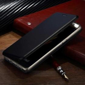 iPhone X / XS oldalra nyíló Elegance flip tok, FEKETE