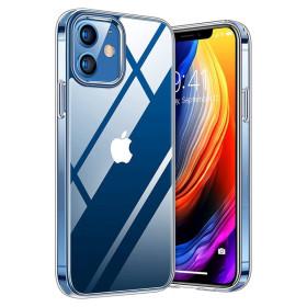 iPhone 12 MINI prémium szilikon tok, ÁTLÁTSZÓ