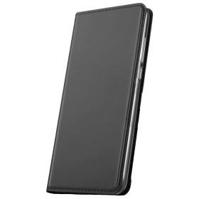Huawei P30 Lite Prémium flip tok, FEKETE