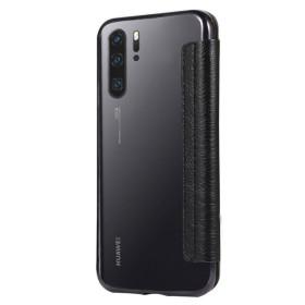 Huawei P30 PRO oldalra nyíló Electro Book flip tok, FEKETE - mob-tok-shop.hu
