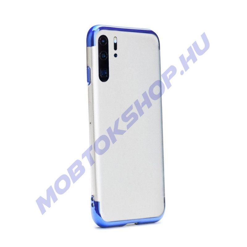 Huawei P30 Pro átlátszó szilikon tok, ELECTRO KÉK - mob-tok-shop.hu