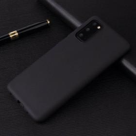 Samsung Galaxy S20 prémium szilikon tok, FEKETE - mob-tok-shop.hu