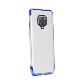Xiaomi Redmi Note 9 / 9S / 9 PRO / 9 PRO MAX átlátszó szilikon tok, ELECTRO KÉK - mob-tok-shop.hu