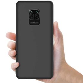 Xiaomi Redmi Note 9 / 9S / 9 PRO / 9 PRO MAX szilikon tok, FEKETE - mob-tok-shop.hu