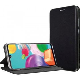 Xiaomi Mi NOTE 10 / NOTE 10 PRO oldalra nyíló Elegance flip tok, Fekete - mob-tok-shop.hu