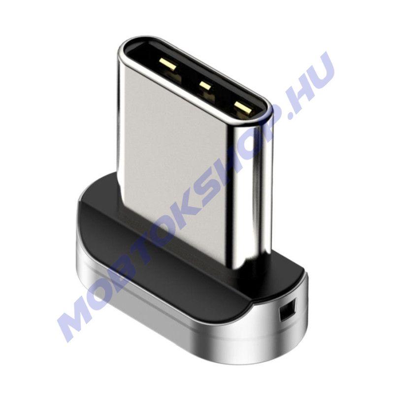Baseus Type-C mágneses töltőfej csatlakozó - mob-tok-shop.hu