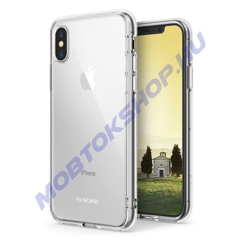 iPhone X / XS Roar JELLY szilikon tok, ÁTLÁTSZÓ - mob-tok-shop.hu
