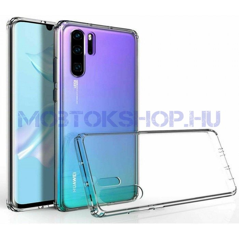 Huawei P30 PRO szilikon tok, ÁTLÁTSZÓ - mob-tok-shop.hu